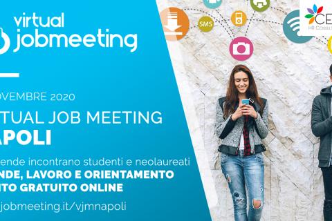 XXIII edizione di Job Meeting NAPOLI, 12 novembre 2020