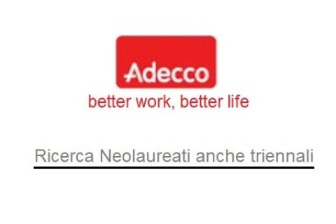ADECCO - Ricerca neo laureati