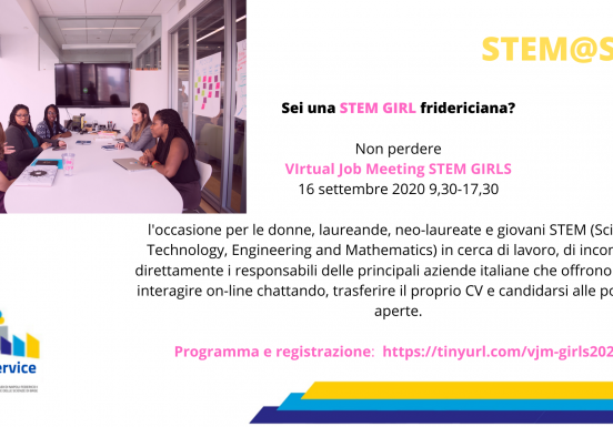 STEM@SPS, 16 Settembre 2020 - 9.30-17.30