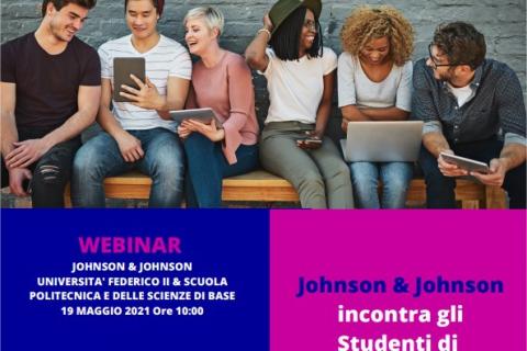 EVENTO JOHNSON & JOHNSON - 19 MAGGIO 2021